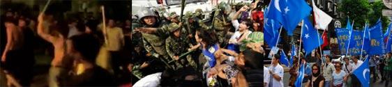 7.5ウルムチ抗議デモ